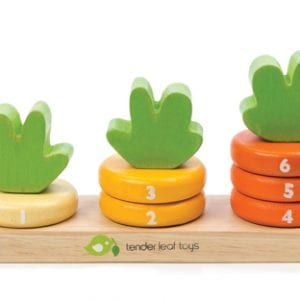 This carrot stacker with its sweet bunny has the added benefits of introducing numbers, colours, sorting and stacking.