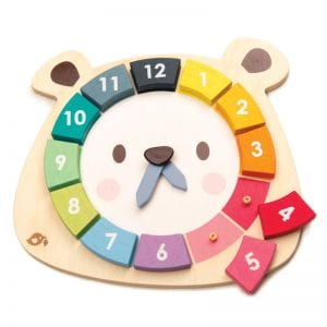 Learn to tell time, numeracy, puzzle, educational toys