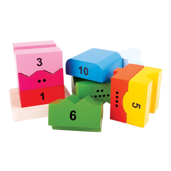 Number Tower, Math and Numeracy, Puzzles, Educational toys