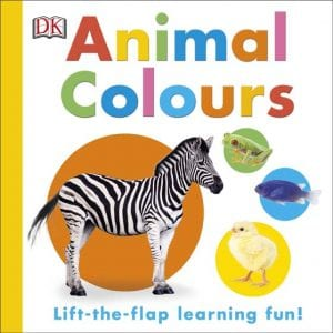 Learn about colours, learn about animals, board book