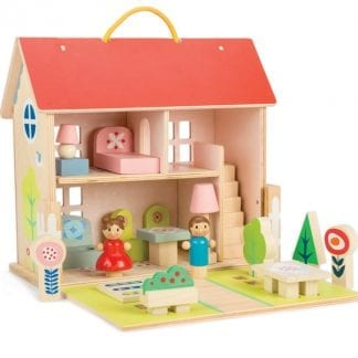 TL8303 - Dolls House Set with Furniture and Dolls
