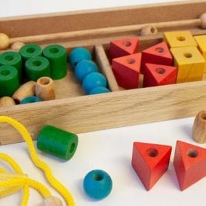 3 to 5 years of age, 5 years and up, Educational Play, Home Decor, Shapes and Color Recognition, Threading, Lacing and Sequencing