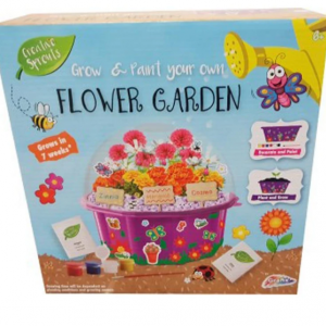 Creative Sprouts Grow and Paint Your Own Flower Garden lets kids grow their own special flower garden