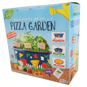 Grow and Paint Your Own Pizza Garden