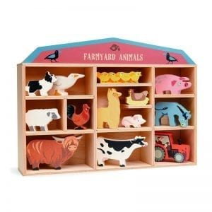 TL8483 - 1 piece Farmyard Animals CDU Set