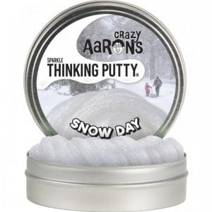 "Crazy Aaron's Thinking Putty - Snow Day 4"" Tin"