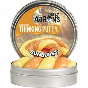 Crazy Aaron's Thinking Putty - Hypercolor Sunburst