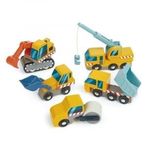 TL8355 - Wooden Construction Car Set