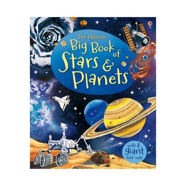 The Usborne Big Book of Stars and Planets - Book