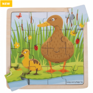 Duck & Duckling Puzzle